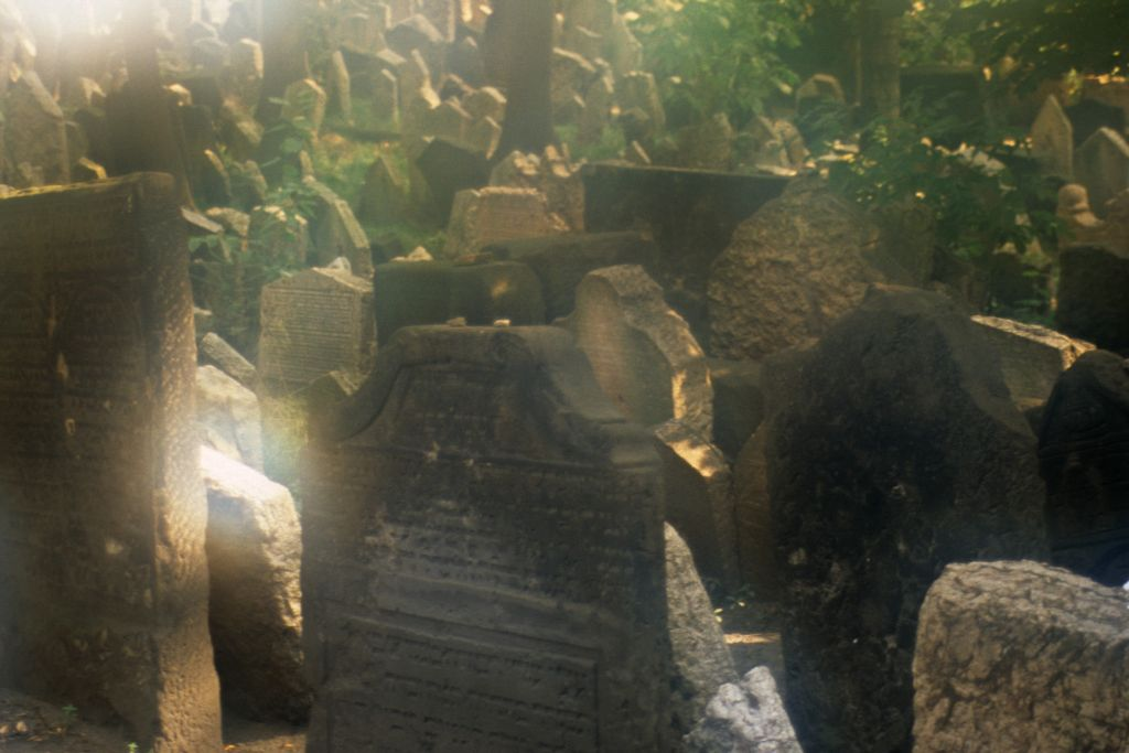 Jewish Cemetery in Prague, 1995