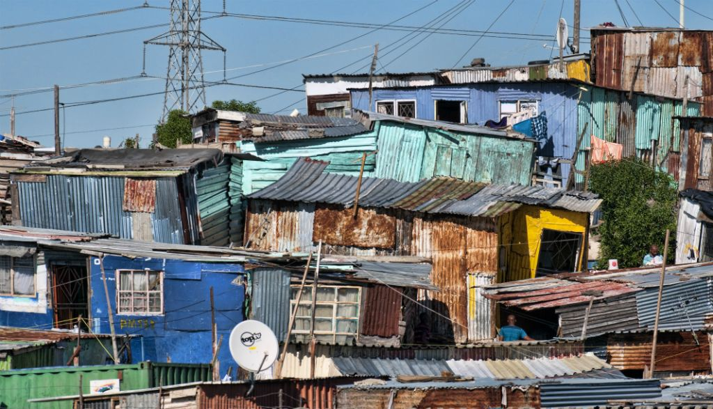Township near Cape Town (South Africa), 2011