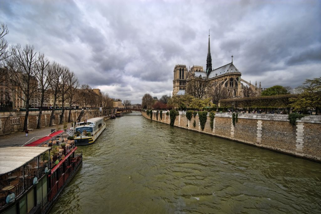 The Seine and Notre-Dame