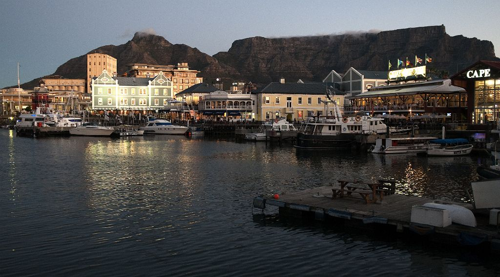Cape Town, Waterfront and Table Mountain