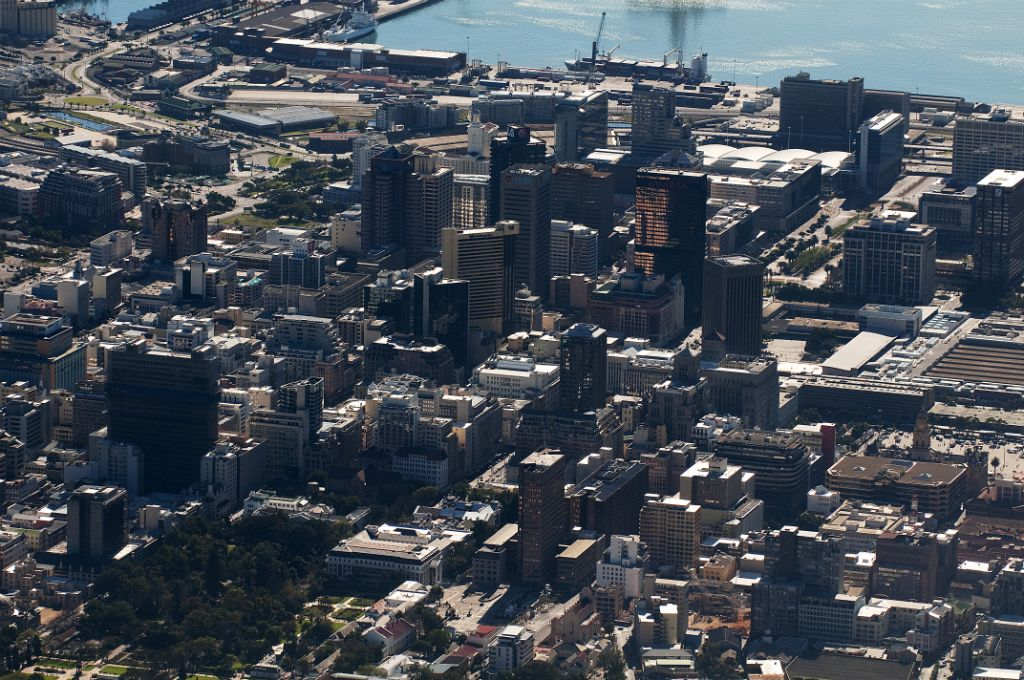 Cape Town, views from Table Mountain