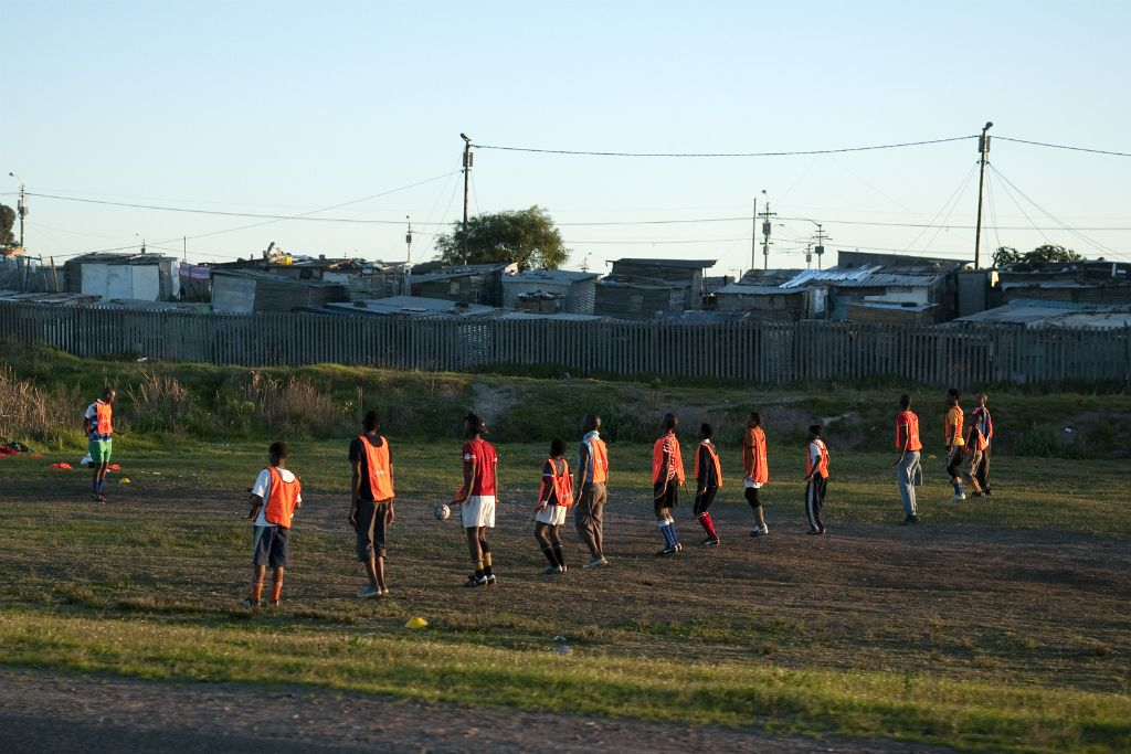 Cape Town, soccer training
